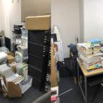 棚に入っていた本や書類達